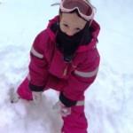 fjolleri i sne